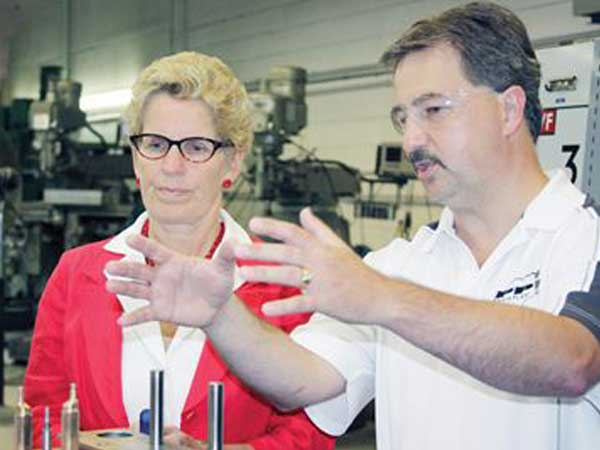Protoplast Receives Visit From Premier, Kathleen Wynne